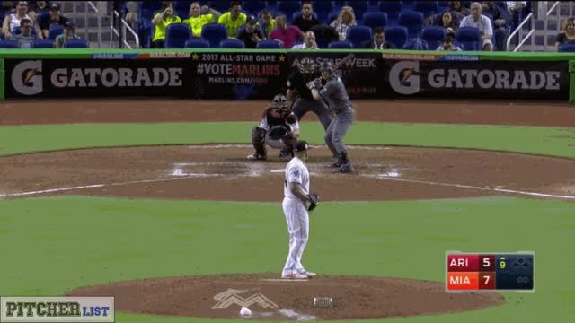Watch and share A.J. Ramos-breaking Ball Whiff Sequence-2017 GIFs by thedongiggity on Gfycat