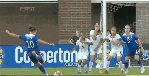 Watch Carli Lloyd goal 1-0 USA GIF on Gfycat. Discover more Carli Lloyd, USWNT GIFs on Gfycat