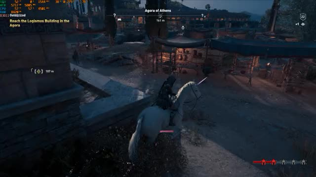 Watch and share Assassin's Creed Odyssey 2018.12.09 - 15.17.34.01 GIFs by brocahontas on Gfycat