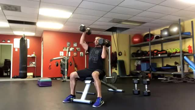 Watch and share Shoulders GIFs and Dumbbell GIFs on Gfycat