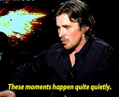 Watch Christian Bale says goodbye to the Batsuit and being Batman (x) GIF on Gfycat. Discover more christian bale GIFs on Gfycat