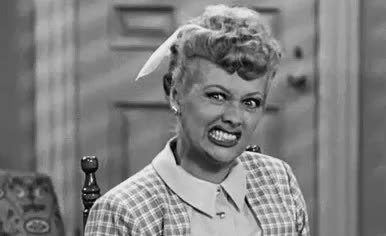agressive, angry, annoyed, attack, bark, bite, lucille ball, lucy, mad, off, pissed, Angry Lucy GIFs