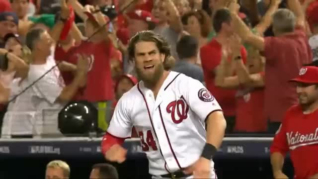 Watch Bryce Harper excited GIF by efitz11 (@efitz111) on Gfycat. Discover more nationals GIFs on Gfycat