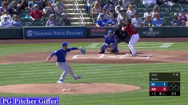 Watch and share Kansas City Royals GIFs and Jake Junis GIFs by Pitcher Giffer on Gfycat