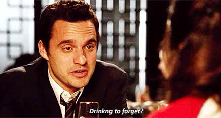 Watch and share Jake Johnson GIFs and Drinking GIFs on Gfycat