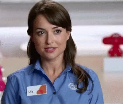 Watch att GIF on Gfycat. Discover more milana vayntrub GIFs on Gfycat
