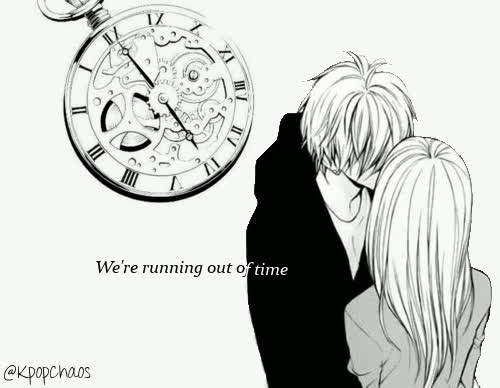 Were Running Out Of Time Quote Anime And Sad Gif Find Make