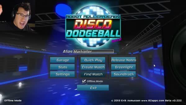 markiplier, DISCO DODGEBALL (reddit) GIFs