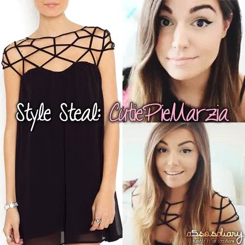 Watch Style Steal [1/?] -CutiePieMarzia,get her look for $13!dress GIF on Gfycat. Discover more 5 seconds of summer, 5sos, 5sos fanfic, 5sos imagine, 5sos preferences, 5sos-official, 5sosfam, ashton irwin, calum hood, cutiepiemarzia, luke hemmings, michael clifford, one direction, pewdiepie, style steal, youtube, youtubers GIFs on Gfycat