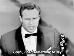 Watch 1k * gifs 1950s marlon brando oscars Academy Awards on the waterfront GIF on Gfycat. Discover more related GIFs on Gfycat