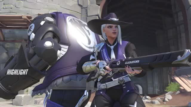 Watch an opening GIF by Trox (@troxellophilus) on Gfycat. Discover more ashe, highlight, overwatch GIFs on Gfycat