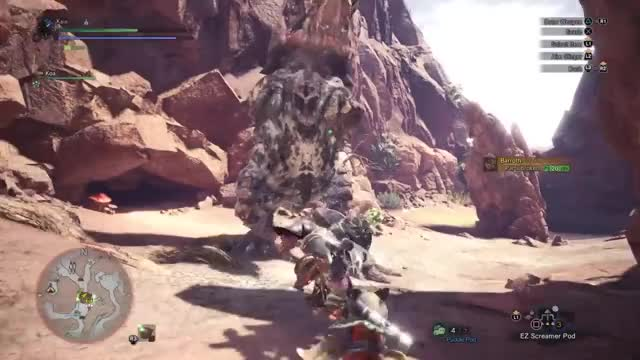 Watch MHW Beta - Hammer spin! GIF by @zirbles on Gfycat. Discover more related GIFs on Gfycat