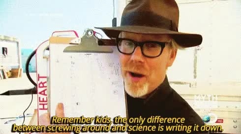 Watch and share Adam Savage GIFs on Gfycat