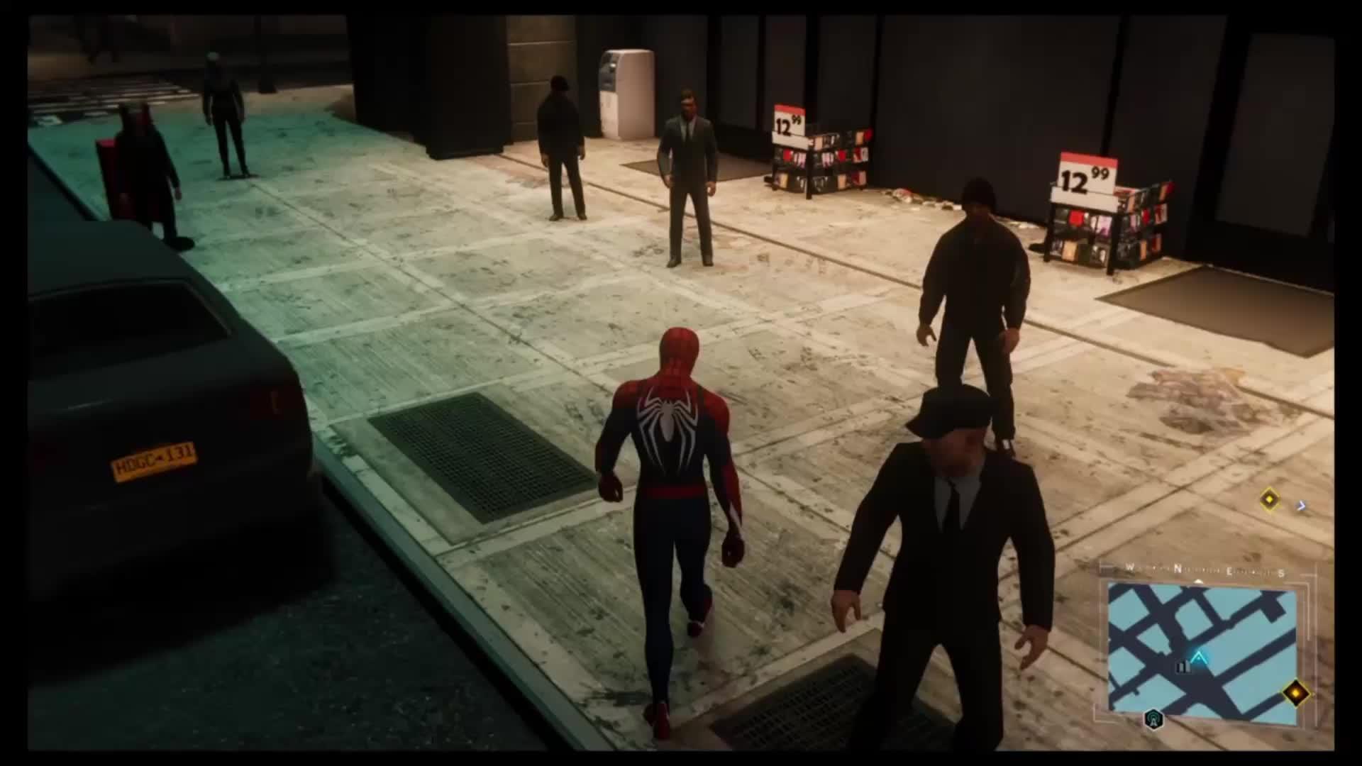 Spider-Man vs. GTA GIFs