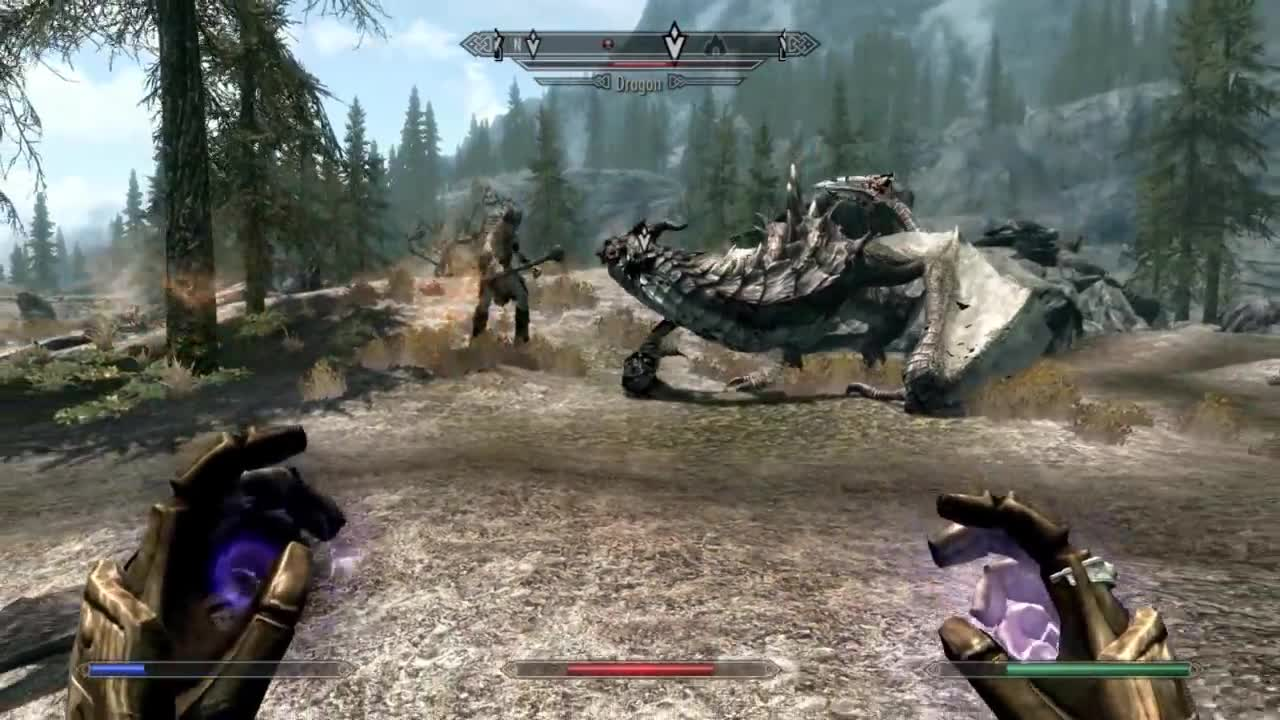 #lol, The Elder Scrolls V: Skyrim (Video Game), Funny GIFs