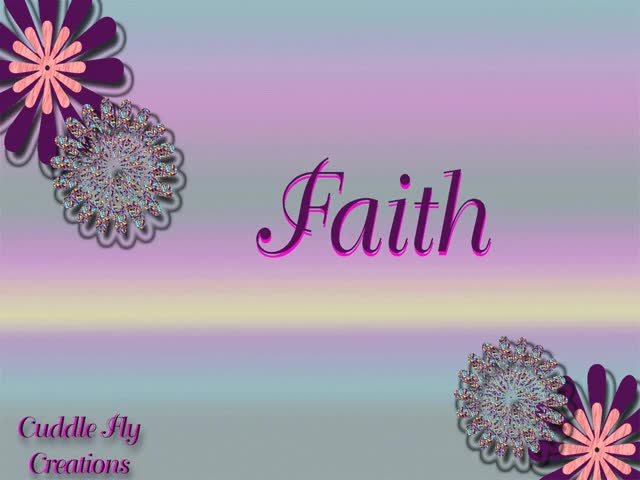 Watch and share Faith animated stickers on Gfycat