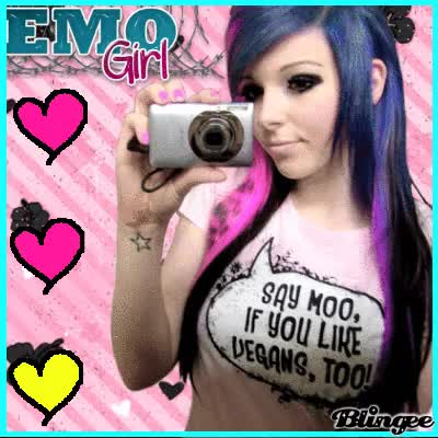Watch and share Emo Girl!! GIFs on Gfycat