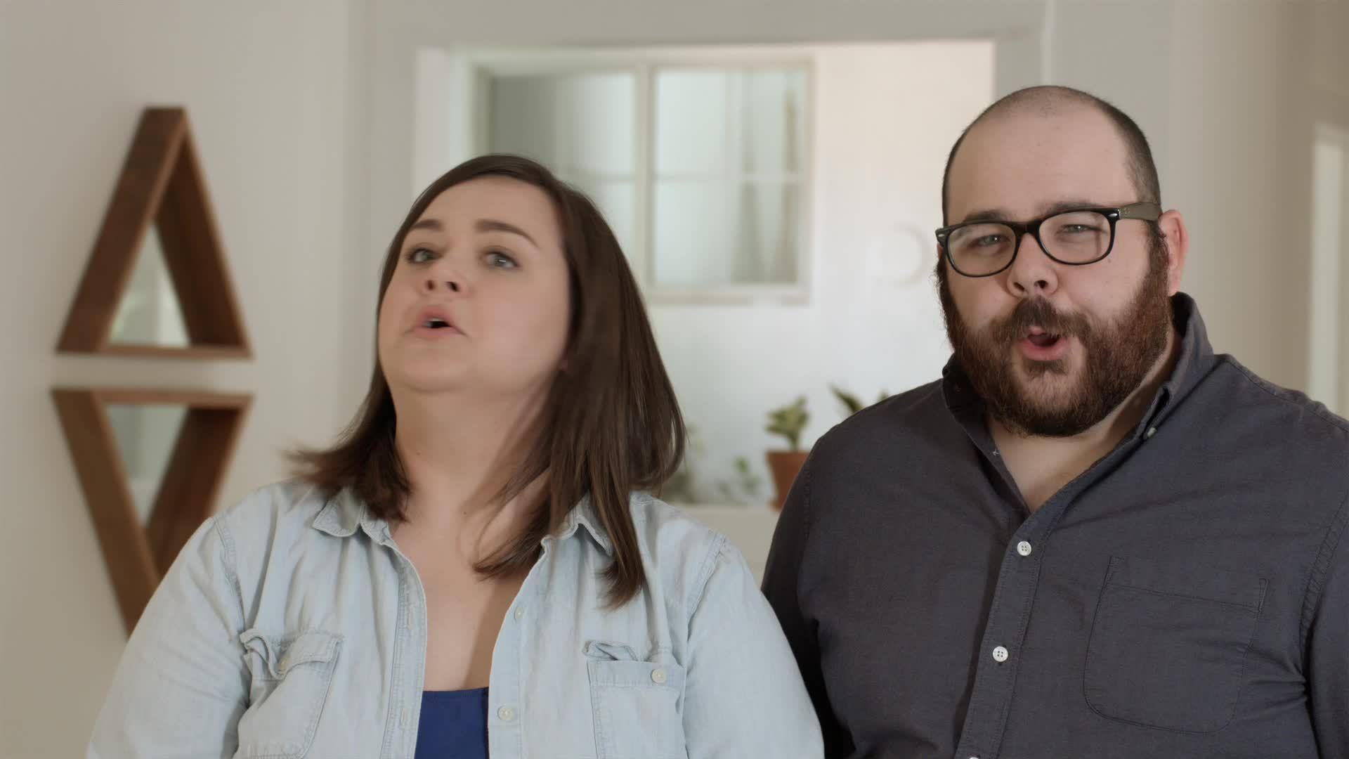 awkward, haha, laugh, Columbus - Nervous Laugh GIFs