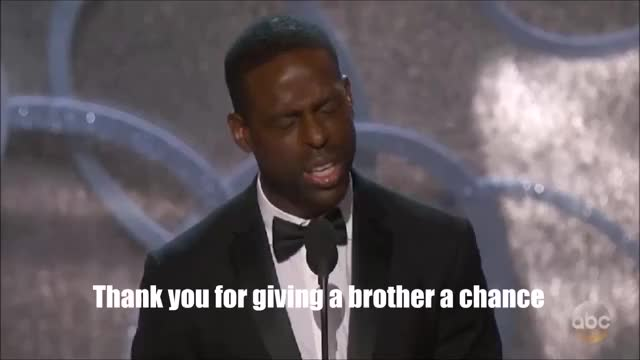 Watch Thank you for giving a brother a chance Emmys 2016 GIF on Gfycat. Discover more Emmys2016 GIFs on Gfycat