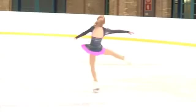 Watch and share Figure Skating GIFs and Sit Spin GIFs on Gfycat