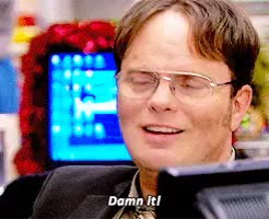 Watch and share Dwight Schrute GIFs and Jenna Fischer GIFs on Gfycat