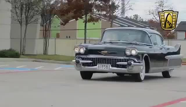 Watch and share 1958 Cadillac Fleetwood Sixty Special Stock #564 Gateway Classic Cars Houston Showroom GIFs on Gfycat
