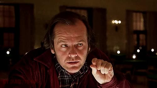 Watch and share Stanley Kubrick Jack Torrance Gif GIFs on Gfycat