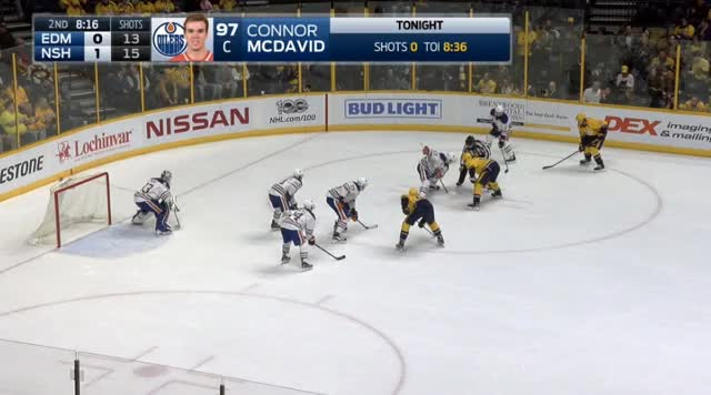 Watch and share Nugent-Hopkins RNH Defensive Woes 2 GIFs by cultofhockey on Gfycat