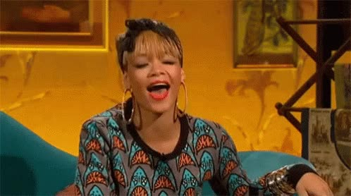 Watch and share Wink Rihanna GIFs on Gfycat