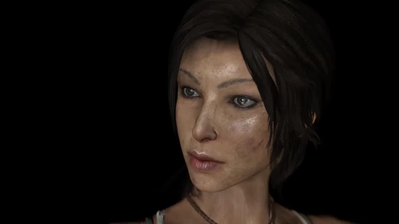 animation, lara croft, tombraider, Tombraider 2013, Lara Rigging Cinema4D GIFs