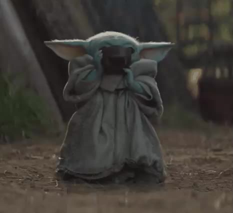 Watch and share The Mandalorian GIFs and Baby Yoda GIFs by qwerty438 on Gfycat