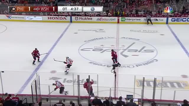Flyers @ Caps full overtime