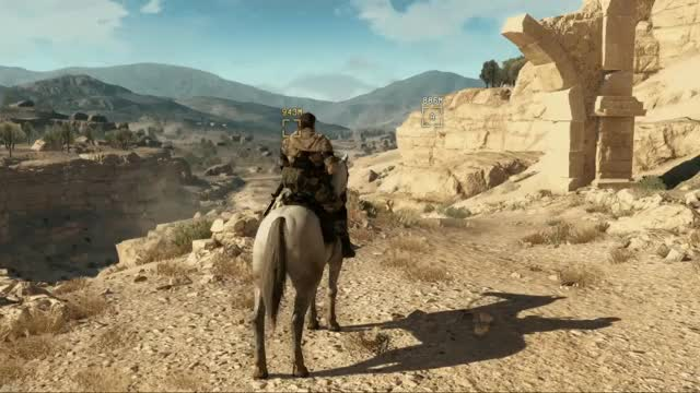 "Watch and share The ""Official"" Metal Gear Solid V: The Phantom Pain Gif Thread. (reddit) GIFs on Gfycat"