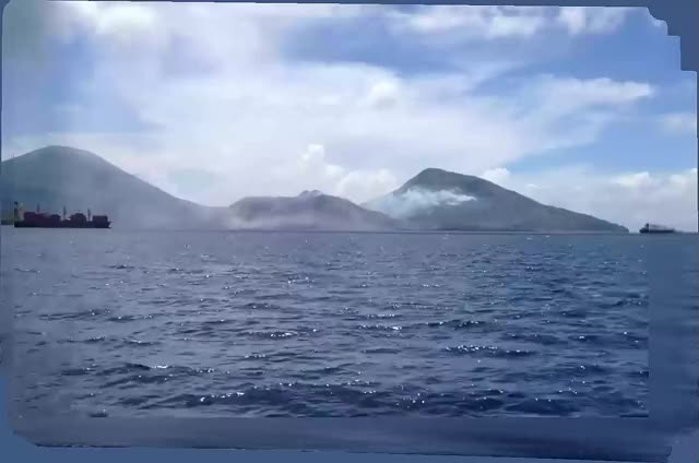 Watch and share The Eruption Of Mount Tavurvur V2 GIFs on Gfycat