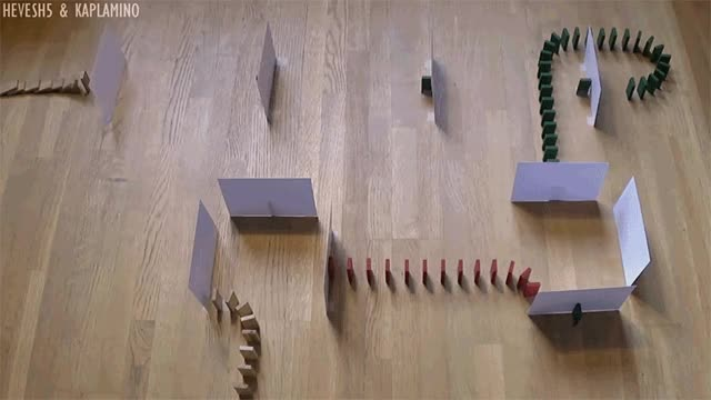 Watch UNCONVENTIONAL Domino Tricks! - Hevesh5 & Kaplamino GIF by Ievgen Marchuk (@ievgenmarchuk) on Gfycat. Discover more domino, tricks GIFs on Gfycat