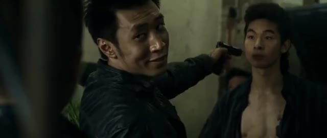 Watch and share Revenge Of The Green Dragons - Gunfight Scenes GIFs on Gfycat