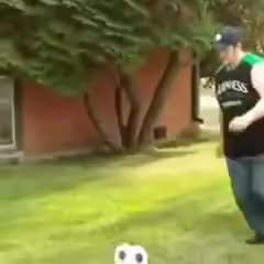Watch and share Trippyshit | Fail Vine Guy Pops The Soccer Ball When He Falls On It AHAHAHAHA GIFs on Gfycat