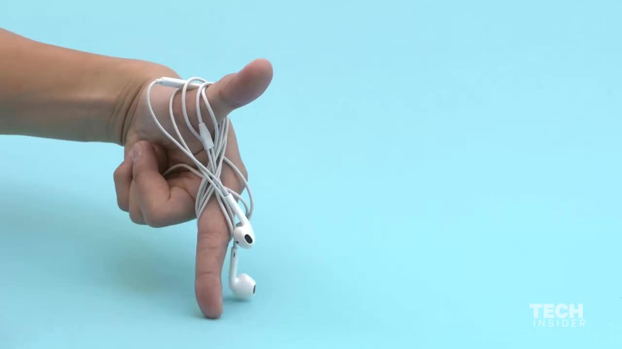 3 mẹo đơn giản giúp tai nghe không bao giờ bị rối ảnh 1