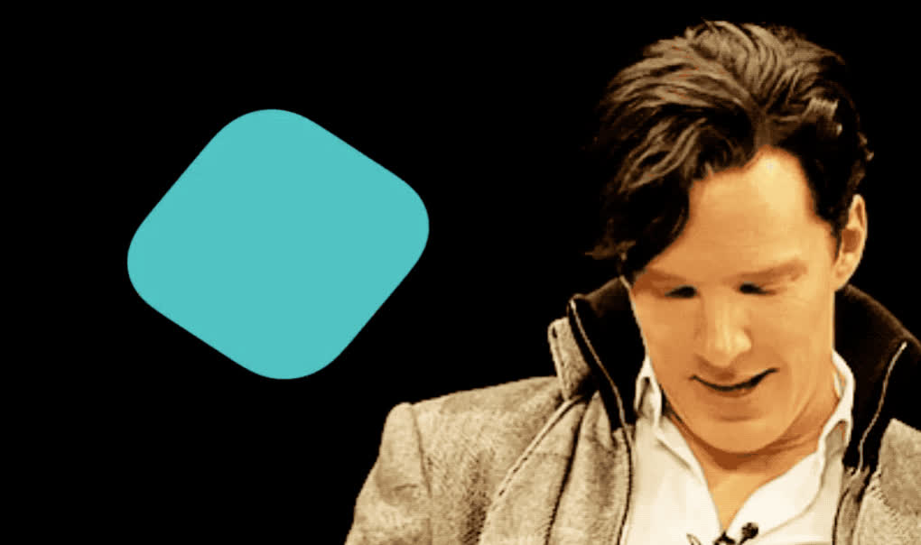 I, I love you, benedict, best, birthday, card, celebrate, cumberbatch, cute, flirt, happy, happy birthday, look, love, smile, sweet, tada, wish, wishes, you, Benedict wishes you happy birthday GIFs