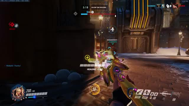 Watch and share Savinglives GIFs and Overwatch GIFs by sirbarther on Gfycat