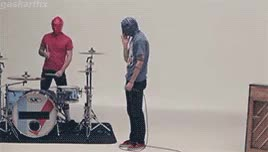 Watch STAY AWAKE GIF on Gfycat. Discover more 21p, REBLOG THIS IT TOOK FOREVER, guns for hands, josh dun, lgbtqiaclique, mine, top, twenty one pilots, tyler joseph, vessel GIFs on Gfycat