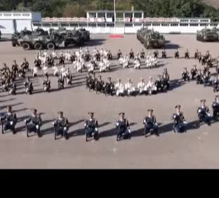 Watch and share Chinese Army Sends Lunar New Year Wishes With Peppa Pig GIFs on Gfycat