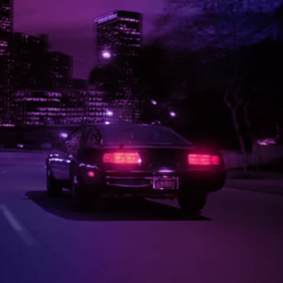 80s, kitt, knight rider, outrun, synthwave, Knight Rider Outrun GIFs
