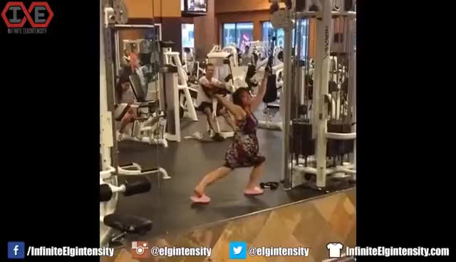 Watch and share Gym Exercise GIFs on Gfycat