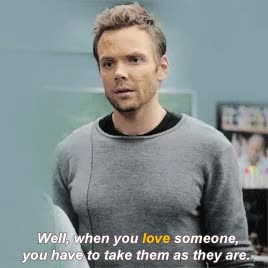 Watch and share Jeff And Annie GIFs and Community Gif GIFs on Gfycat