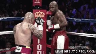 Watch Miguel Cotto vs. Floyd Mayweather GIF on Gfycat. Discover more related GIFs on Gfycat