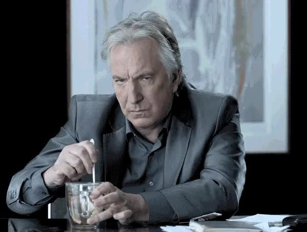 Watch and share Alan Rickman GIFs and Mad GIFs on Gfycat