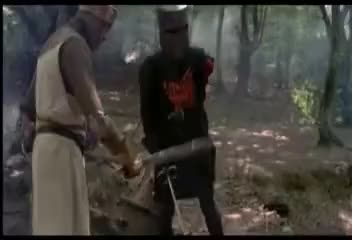 Watch and share Monty Python-The Black Knight GIFs on Gfycat