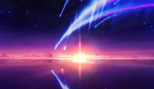 Watch and share Wallpaper Engine - Tiamat Comet (Kimi No Na Wa) (Cleaned-up Version) GIFs on Gfycat
