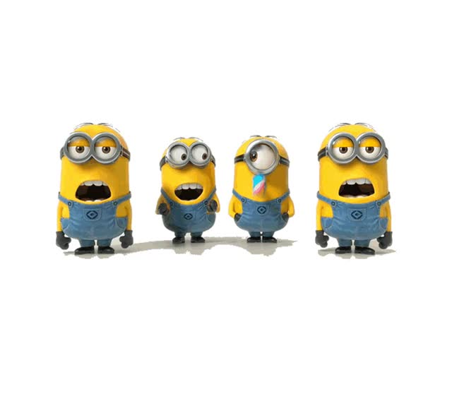 Watch and share Animation And Animated Minions Animated Clipart GIFs on Gfycat